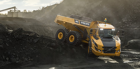Volvo A40G FS Articulated Hauler (image © Volvo Group)