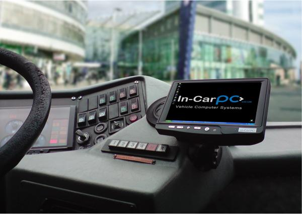 In-CarPC's computers are used in Manchester Airport's airside passenger bus fleet