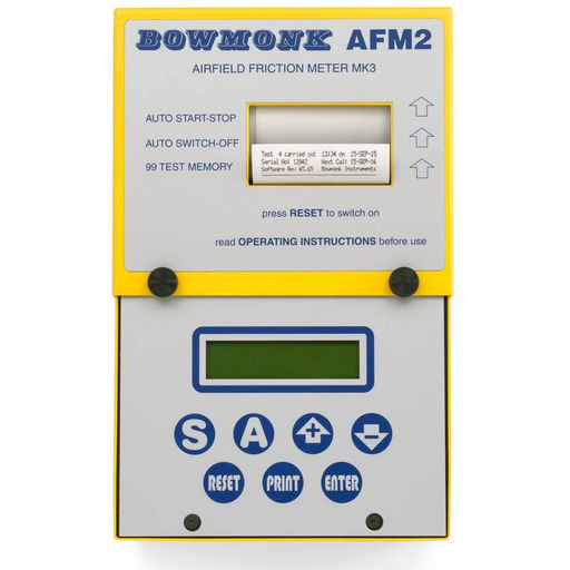 Bowmonk AFM2 Airfield Friction Meter